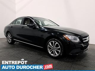 Used 2017 Mercedes-Benz C-Class C 300 - AWD - Navigation - Toit Ouvrant - Cuir for sale in Laval, QC
