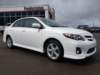 Used 2013 Toyota Corolla S for sale in Fredericton, NB