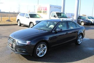 Used 2013 Audi A4 2.0L Premium quattro for sale in Whitby, ON