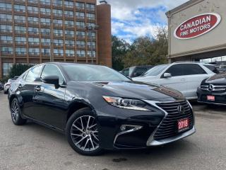 Used 2018 Lexus ES 350 CLEAN CARFAX | NAVI | CAM | ROOF | LKA | BSM | for sale in Scarborough, ON