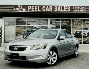 Used 2009 Honda Accord EXL|LEATHER|SUNROOF| for sale in Mississauga, ON