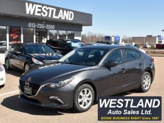 Used 2015 Mazda MAZDA3 GX for sale in Pembroke, ON