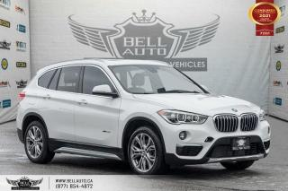 Used 2017 BMW X1 xDrive28i, PANOROOF, HEADS-UP DIS, NAVI, REAR CAM, NO ACCIDENT for sale in Toronto, ON