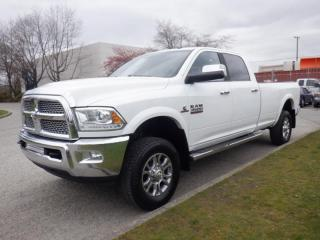 Used 2015 RAM 3500 Laramie Crew Cab Long Box  4WD Diesel for sale in Burnaby, BC