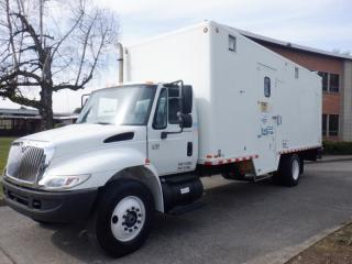 Used 2005 International 4300 Durastar DT466 Cube Van 24 foot Diesel With Hydrualic Brakes for sale in Burnaby, BC