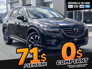 Used 2016 Mazda CX-5 GT AWD   ''TOIT CUIR'' for sale in Ste-Marie, QC