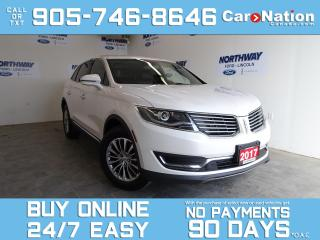 Used 2017 Lincoln MKX SELECT   AWD   NAV   LEATHER   REAR CAM   1 OWNER for sale in Brantford, ON