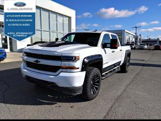 Used 2018 Chevrolet Silverado 1500 De base cabine multiplace 143,5 po 4RM for sale in Victoriaville, QC