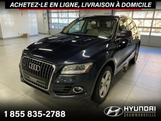 Used 2013 Audi Q5 QUATTRO + TOIT PANO + CUIR + MAGS + WOW for sale in Drummondville, QC