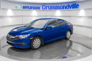 Used 2016 Honda Civic LX + GARANTIE + CAMERA + A/C + WOW !! for sale in Drummondville, QC