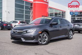Used 2018 Honda Civic GARANTIE LALLIER 10ANS/200,000 KILOMETRESINCLUSE* PLUS DE 75 CIVIC USAGEES PRETES POUR LIVRAISON RAPIDE for sale in Terrebonne, QC