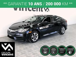 Used 2017 Honda Civic LX ** GARANTIE 10 ANS ** Roulez en Honda Civic à prix abordable! for sale in Shawinigan, QC