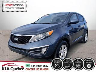 Used 2016 Kia Sportage ** LX * AC * MAGS * CRUISE *BLUETOOTH for sale in Québec, QC