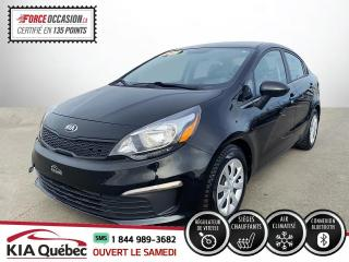 Used 2017 Kia Rio ** LX+ * AC * CRUISE *SIEGES CHAUFFANTS for sale in Québec, QC