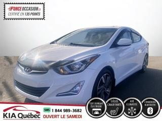 Used 2016 Hyundai Elantra GLS* CAMERA* TOIT* SIEGES CHAUFFANTS* for sale in Québec, QC