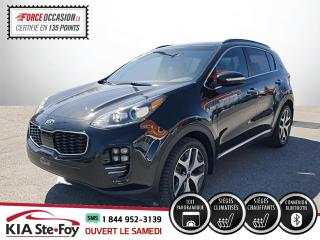 Used 2018 Kia Sportage SX TURBO* CUIR* TOIT PANO* AWD* SIEGES E for sale in Québec, QC