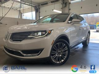 Used 2018 Lincoln MKX Ultra TI for sale in St-Hyacinthe, QC
