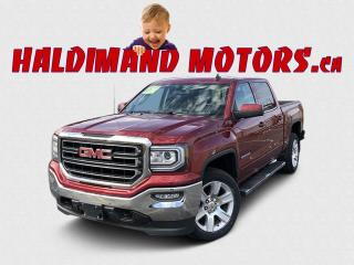 Used 2018 GMC Sierra 1500 SLE CREW Z71 4WD for sale in Cayuga, ON