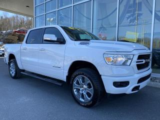 Used 2020 RAM 1500 BIG HORN , CREW , ÉCRAN 8.4' , APPLE CAR for sale in Ste-Agathe-des-Monts, QC