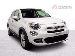 Used 2016 Fiat 500 X LOUNGE 500X CUIR TOIT PANO MAGS for sale in St-Hubert, QC