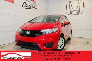 Used 2016 Honda Fit LX à hayon 5 portes CVT for sale in Blainville, QC
