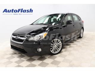 Used 2012 Subaru Impreza LIMITED SPORT AWD *CUIR/LEATHER *TOIT-OUVRANT for sale in St-Hubert, QC