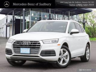 Used 2018 Audi Q5 Progressive - CLEAN CARFAX - ONE OWNER !! for sale in Sudbury, ON