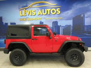 Used 2011 Jeep Wrangler SPORT 4X4 V6 MANUEL 6 VITESSES 128300KM for sale in Lévis, QC