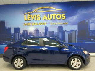 Used 2013 Chevrolet Sonic LT SEULEMENT 20100 KM COMME NEUF TOUT EQ for sale in Lévis, QC