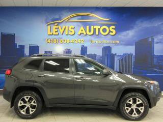 Used 2014 Jeep Cherokee TRAILHAWK V-6 AWD TOIT PANORAMIQUE CUIR for sale in Lévis, QC