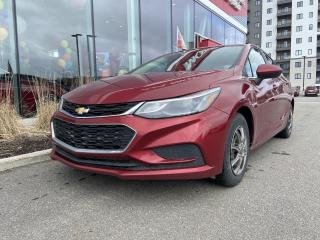 Used 2017 Chevrolet Cruze *LT*TURBO*CAMERA*BLUETOOTH*GPS*A/C* for sale in Québec, QC