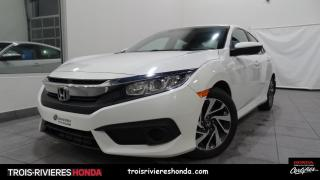 Used 2017 Honda Civic EX + BLUETOOTH + CAMERA + DEMARREUR ! for sale in Trois-Rivières, QC