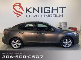 Used 2012 Mazda MAZDA3 GS, Nice little sedan, Low Km's, Excellent gas mileage! for sale in Moose Jaw, SK