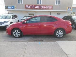 Used 2015 Toyota Corolla S ONLY 26300KM for sale in Waterloo, ON