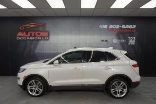 Used 2016 Lincoln MKC RESERVE AWD 2.3L ECOBOOST CUIR TOIT PANO GPS NAVI for sale in Lévis, QC