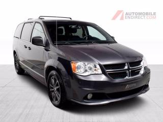 Used 2017 Dodge Grand Caravan SXT Premium Cuir Stow N'Go TV/DVD A/C Mags for sale in Île-Perrot, QC
