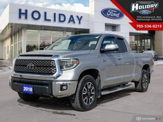 Used 2018 Toyota Tundra SR5 Plus for sale in Peterborough, ON
