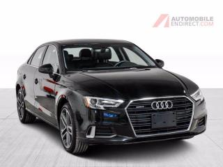 Used 2017 Audi A3 A3 PROGRESSIV AWD CUIR TOIT for sale in Île-Perrot, QC