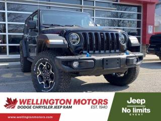 New 2021 Jeep Wrangler Unlimited Rubicon for sale in Guelph, ON