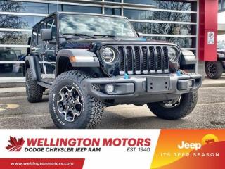 New 2021 Jeep Wrangler 4xe Unlimited Rubicon for sale in Guelph, ON
