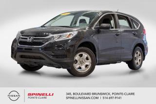 Used 2016 Honda CR-V LX AWD AWD / CAMERA DE RECUL / BLUETOOTH / SIEGE CHAUFFANTS for sale in Montréal, QC