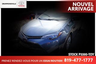 Used 2017 Toyota Corolla LE| SAFETY SENSE| SIÈGES CHAUFFANTS for sale in Drummondville, QC