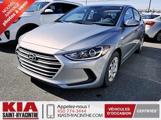 Used 2017 Hyundai Elantra LE * GR ÉLECTRIQUE / SIÈGES CHAUFFANTS for sale in St-Hyacinthe, QC
