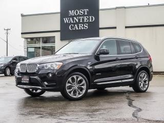Used 2017 BMW X3 xDRIVE 28i|NAV|CAMERA|PANO ROOF|19 INCH RIMS for sale in Kitchener, ON