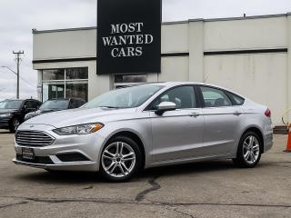 Used 2018 Ford Fusion SE|CAMERA|HEATED SEATS|ALLOYS|PUSH BUTTON for sale in Kitchener, ON