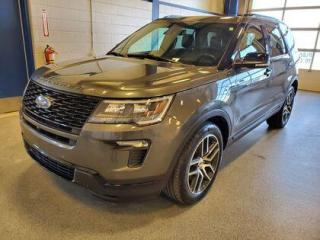 Used 2018 Ford Explorer SPORT for sale in Moose Jaw, SK