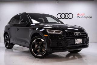 Used 2020 Audi Q5 Technik w/S-Line & Comfort Interior *Low KM-Local Trade* for sale in Winnipeg, MB