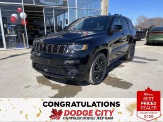 New 2021 Jeep Grand Cherokee Limited X-4WD,Nav,Leather,Park Assist, B/U Cam for sale in Saskatoon, SK