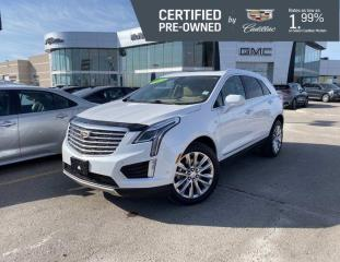 Used 2018 Cadillac XT5 Platinum AWD | Heated Seats | Navigation | for sale in Winnipeg, MB