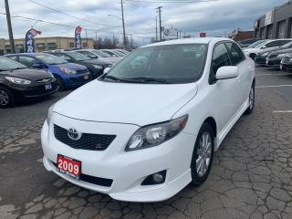 Used 2009 Toyota Corolla S for sale in Hamilton, ON
